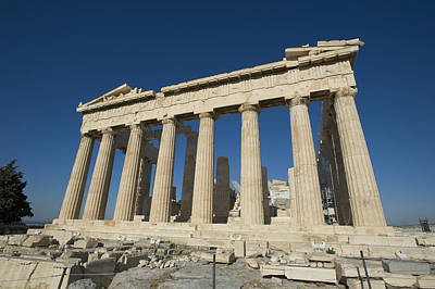 Greek Temple Photograph - Parthenonathens Greece by Daniel Alexander