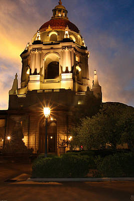 Photograph - Pasadena City Hall by Robert Hebert