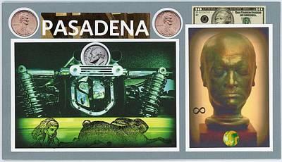 William Blake Mixed Media - Pasadena by Stan Askew