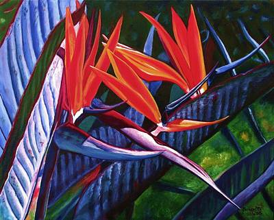 Kauai Artist Painting - Passion For Paradise by Marionette Taboniar