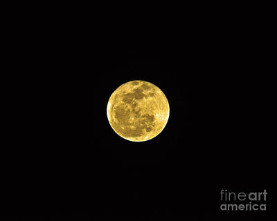 Passover Full Moon Art Print by Al Powell Photography USA