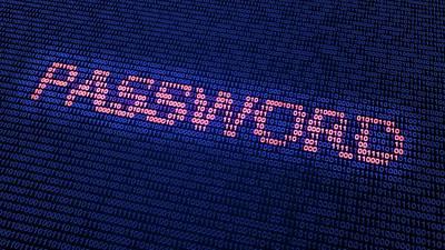 Binary Photograph - Password In Binary Code by Andrzej Wojcicki
