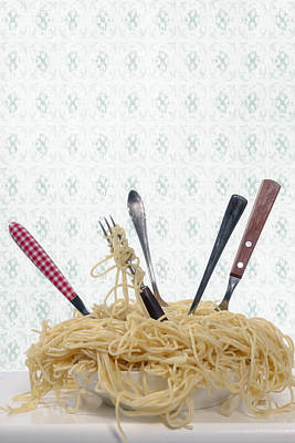 Spaghetti Photograph - Pasta For Five by Joana Kruse