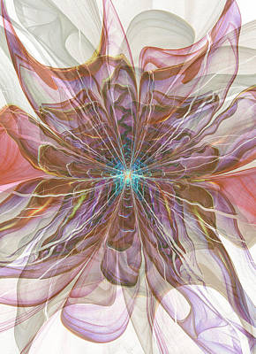 Digital Art - Pastel Flower  by Kiki Art