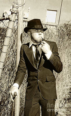 Nicotine Photograph - Pastime Pipe Smoker by Jorgo Photography - Wall Art Gallery