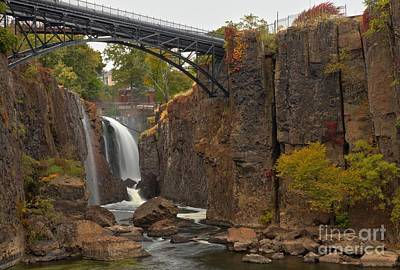 Photograph - Paterson Great Falls New Jersey by Adam Jewell