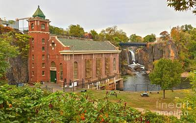 Photograph - Paterson Great Falls Panorama by Adam Jewell