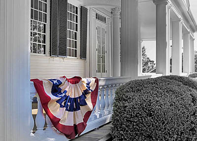 Photograph - Patriotic Display by Janice Drew