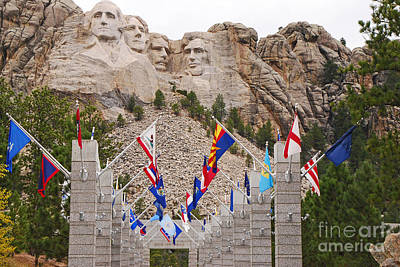 Photograph - Patriotic Faces by Mary Carol Story