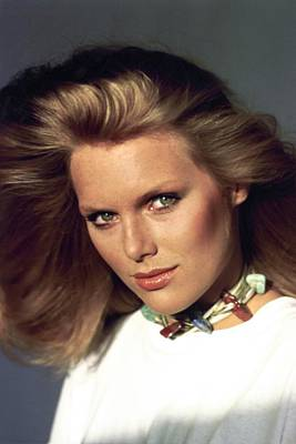 Photograph - Patti Hansen Wearing Max Factor Make-up by Arthur Elgort