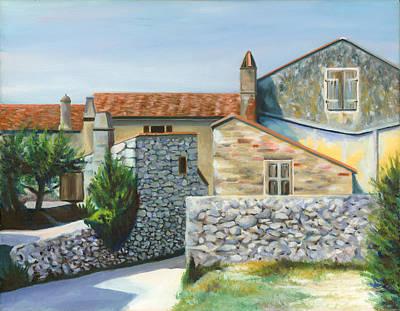 Patti's House Art Print by Joe Maracic