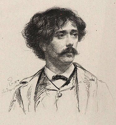 Rajon Drawing - Paul-adolphe Rajon French by Litz Collection
