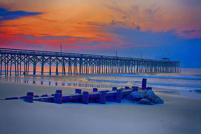 Photograph - Pawleys Island Sunrise by Bill Barber