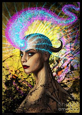 Mixed Media - Peace Of Mind by Tony Koehl