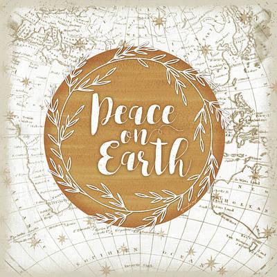 Peace On Earth Art Print by Jennifer Pugh