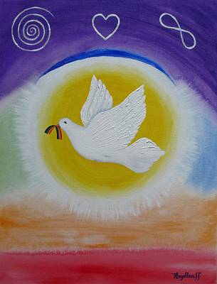 Painting - Peace by Pat Heydlauff