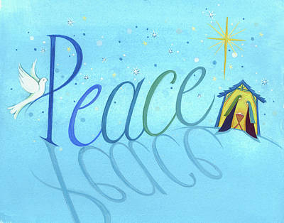 Peace Print by P.s. Art Studios