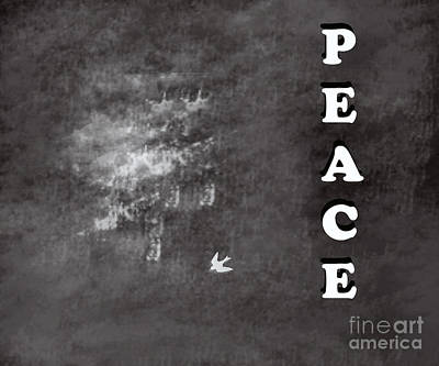 Peace Art Print by Trilby Cole