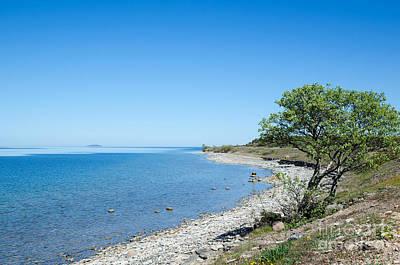 Photograph - Peaceful Coastline  by Kennerth and Birgitta Kullman