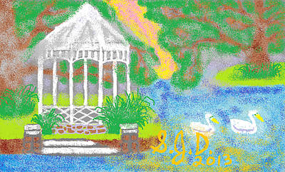 Peaceful Place Art Print by Joe Dillon