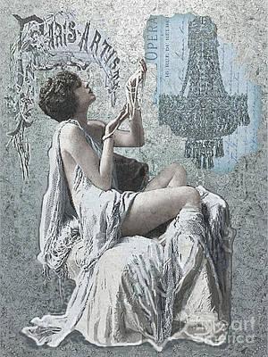 Maureen Digital Art - Pearl Of Paris by Maureen Tillman