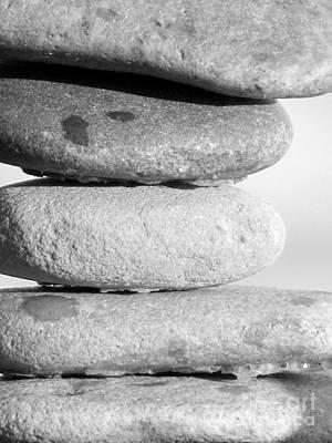Photograph - Pebbles by France Laliberte