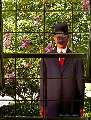 Peeping Rene Original by Gene Norris