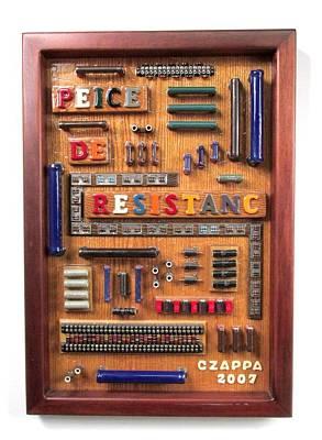Czappa Sculpture - Peice De Resistanc by Bill Czappa