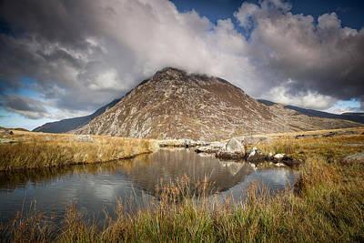 Mountain Photograph - Pen Yr Ole Wen by Christine Smart