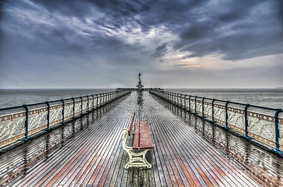 Penarth Pier 4 Art Print
