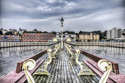 Penarth Pier 5 Art Print