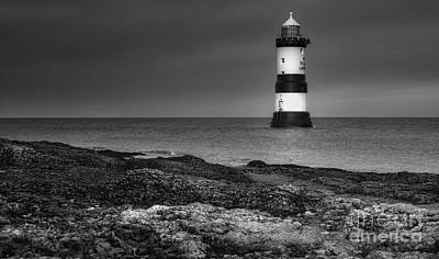 Photograph - Penmon Lighthouse by Ian Mitchell