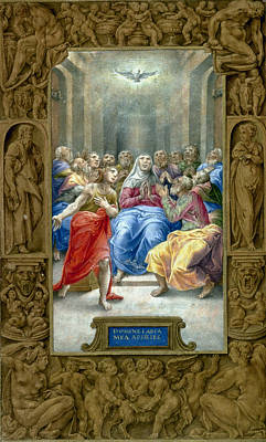 Painting - Pentecost by Granger