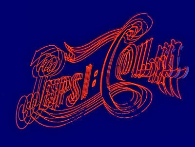 Pepsi Cola Art Print by Susan Candelario