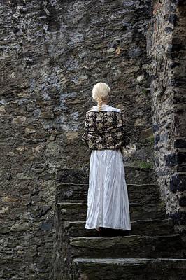 Period Lady Art Print by Joana Kruse