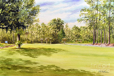 Cheap Painting - Perry Golf Course Florida by Bill Holkham