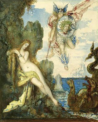 Perseus And Andromeda Art Print