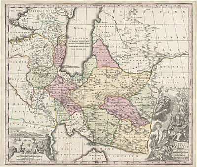 Cartography Photograph - Persia by British Library