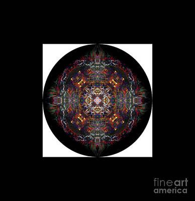 Mandala Photograph - Personal Mandala by Marie Jamieson