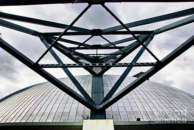 Downtown Pittsburgh Photograph - Perspectives Mellon Arena by Amy Cicconi