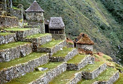 Photograph - Peru: Machu Picchu by Granger