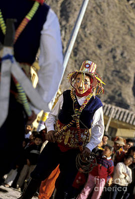 Photograph - Peruvian Festival Sacred Valley by Ryan Fox
