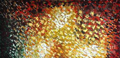 Painting - Petals by Preethi Mathialagan