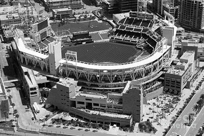 San Diego Padres Stadium Photograph - Petco Park San Diego Ca by Bill Cobb