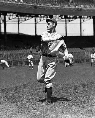 Philadelphia Phillies Stadium Photograph - Peter Pete Sivess by Retro Images Archive