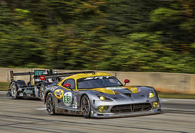 Franchitti Photograph - Petit Le Mans by Bill Linhares