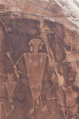 Photograph - Petroglyph by Melany Sarafis