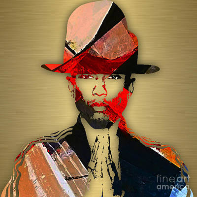 Singer Mixed Media - Pharrell Williams Collection by Marvin Blaine