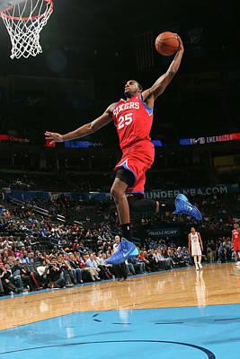 Photograph - Philadelphia 76ers V Oklahoma City by Layne Murdoch