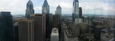 Photograph - Philadelphia Skyline by Philip Grant